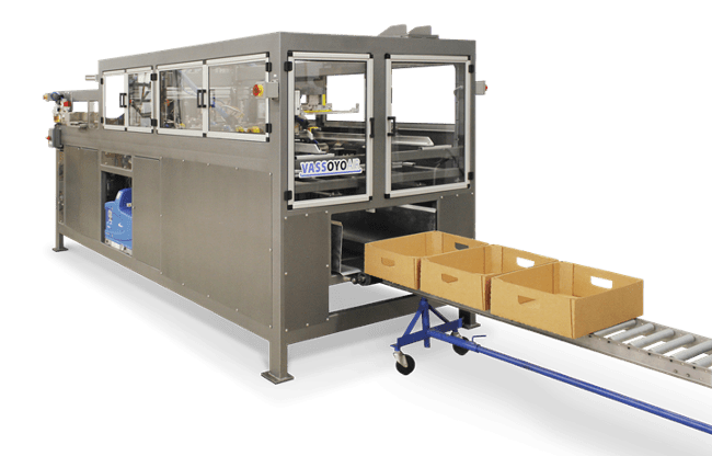 Vassoyo Tray Erecting Machine