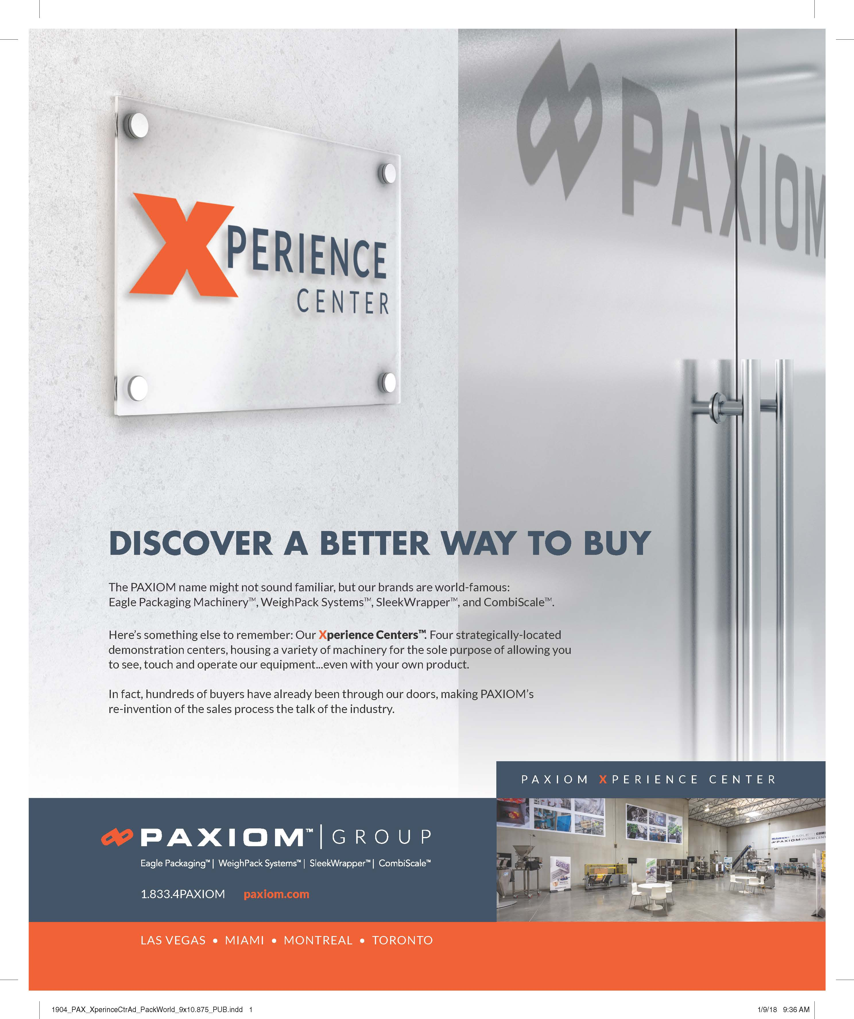 Paxiom Xperience Center