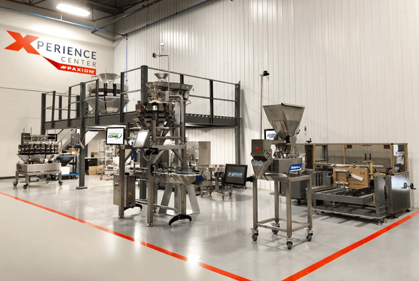 packaging machinery showroom